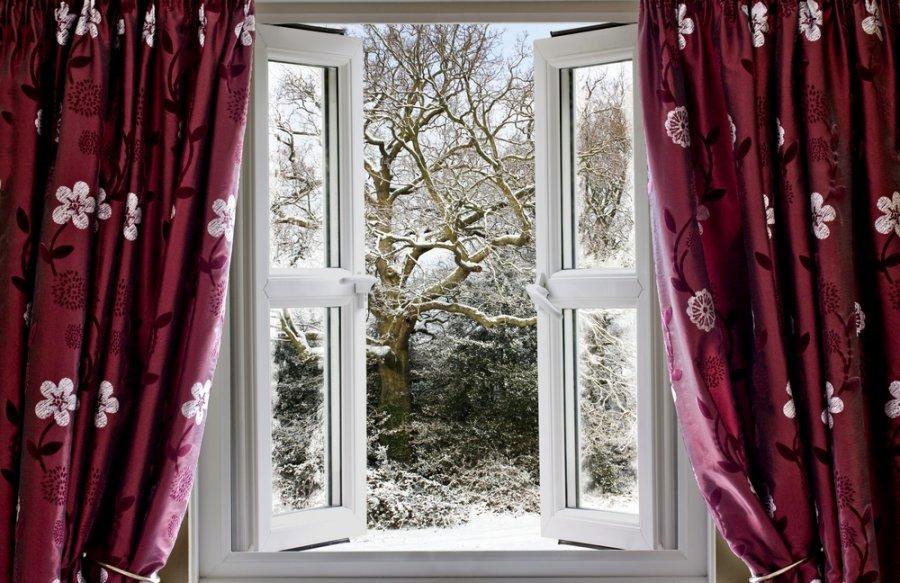 Зимнее окно фото