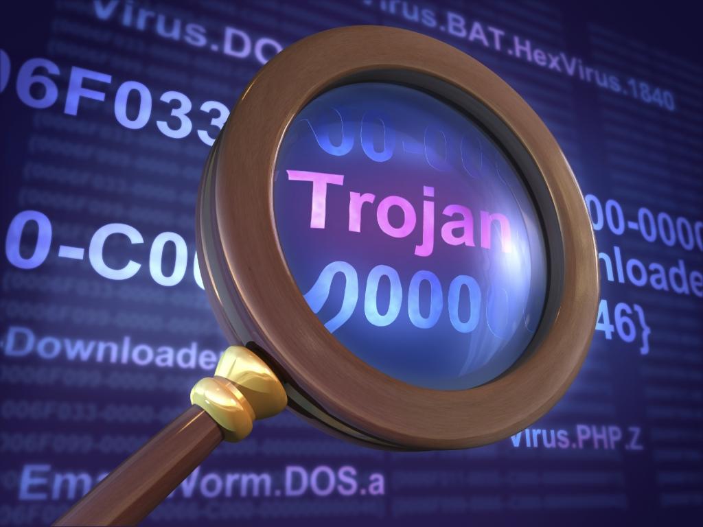 Картинки вирусов и троянова