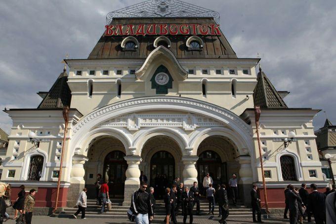 Фото на вокзале