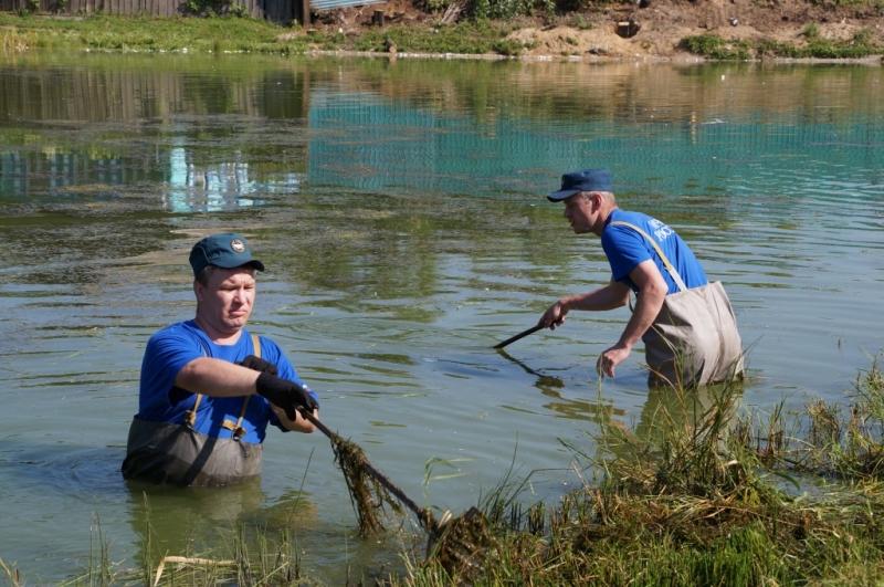 Как почистить озеро