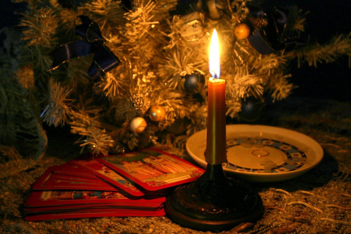 Гадание на новый год и на рождество