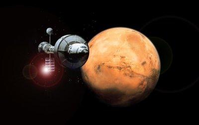 Путешествие наМарс становится все неменее опасным— русские ученые