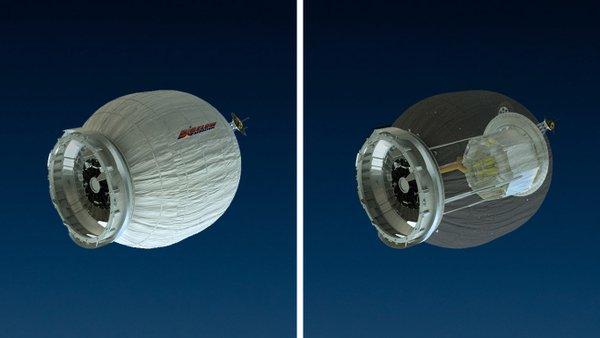 Прямая трансляция раскрытия надувного модуля BEAM наМКС (UPD)