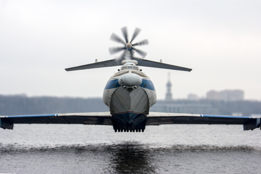 Экранопланы будут обеспечивать безопасность пилотируемых запусков сВосточного