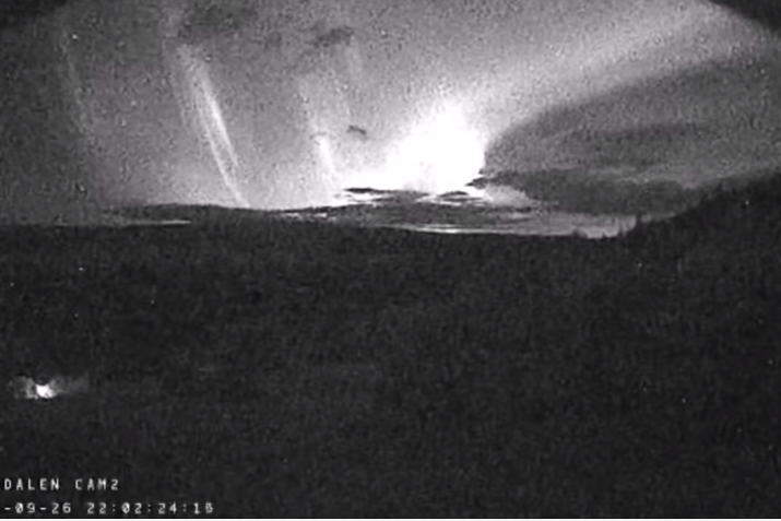 Внорвежской долине Хессдален отмечено инопланетное свечение