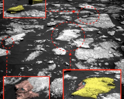 НаМарсе ученые разглядели дом инопланетян сприпаркованным НЛО