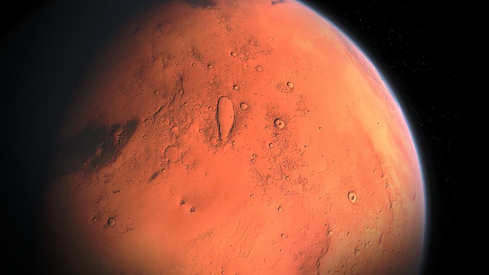 Наорбите Марса найдены остатки погибшей планеты