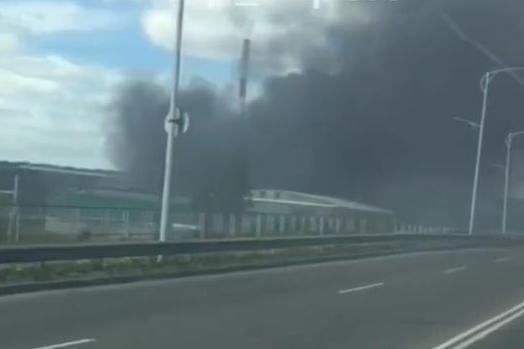 ВБлаговещенске зажегся завод железобетонных изделий