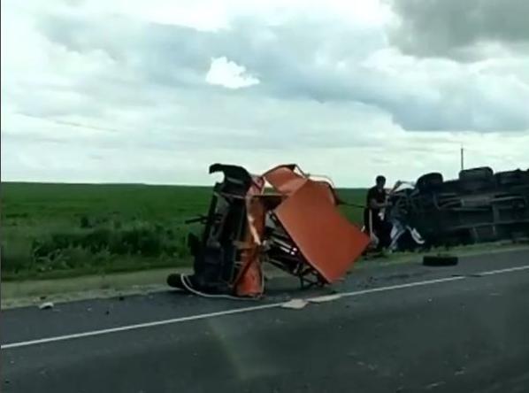 По факту аварии с участием