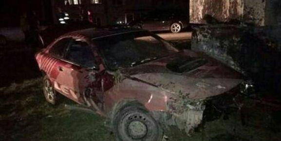 ВПриамурье автомобиль врезался вбетонный блок— Смертельное ДТП