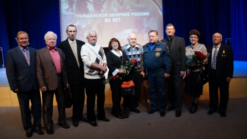 ВКалуге подчеркнули 85-ю годовщину гражданской обороны Российской Федерации