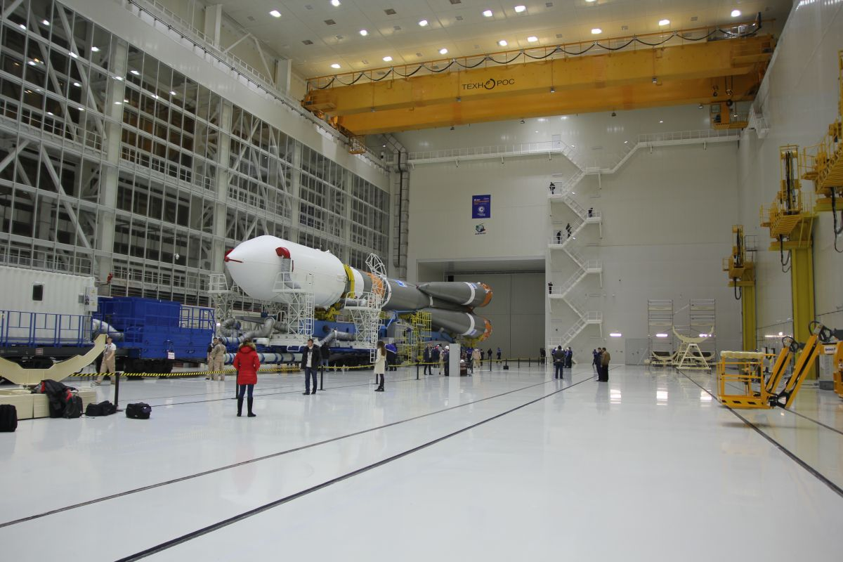 Ракета-носитель «Союз-2» доставлена накосмодром «Восточный»