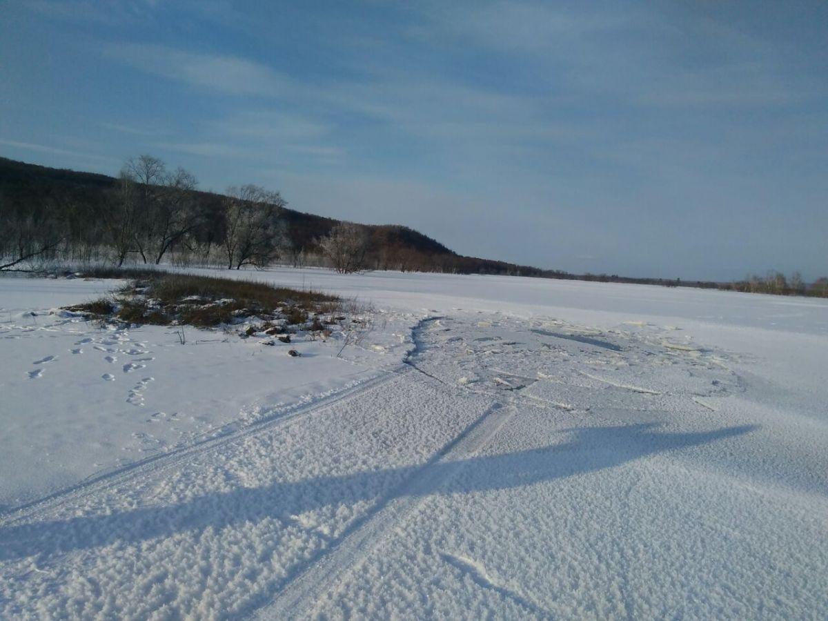 ВПриамурье под лед провалился автомобиль: есть жертвы