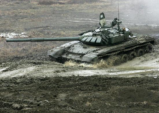 Под Волгоградом танки посоревнуются вбиатлоне