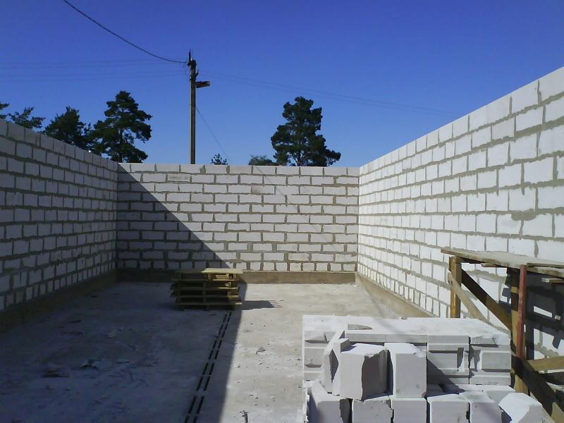 Построить дом своими руками из пеноблоков 2 этажа