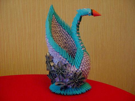 Все о модульном оригами лебеди
