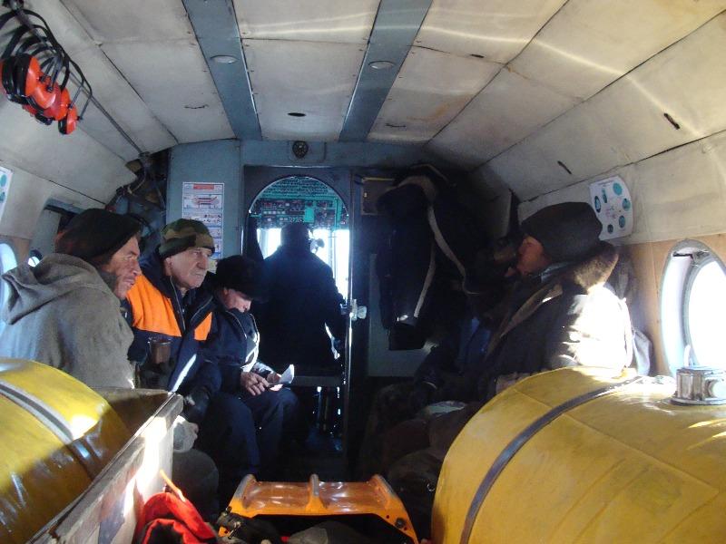 Рыбаки заблудились в тайге