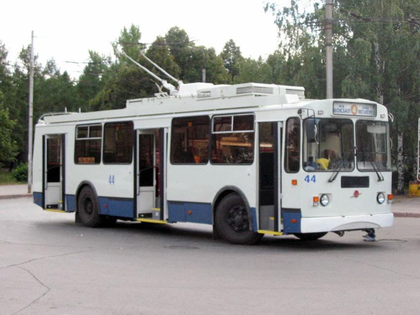 Троллейбусное предприятие Рубцовска отмечает свое сорокалетие